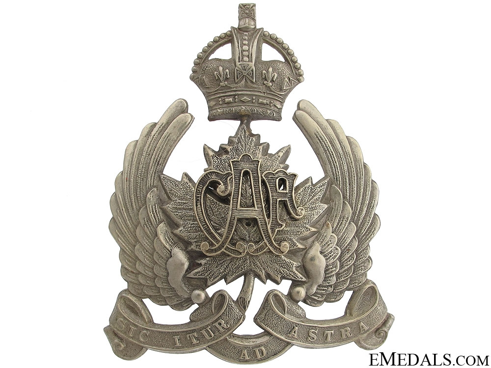 eMedals-An Early 1920 Canadian Air Force Cap Badge