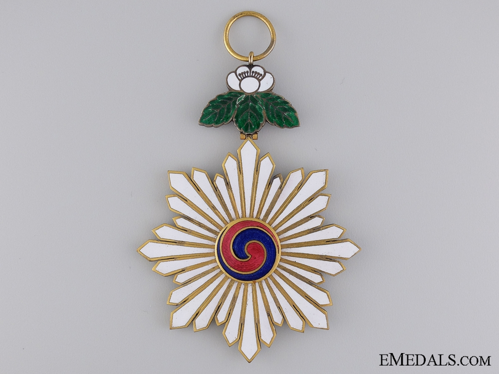 eMedals-An Early 20th Century Korean Order of Taeguk