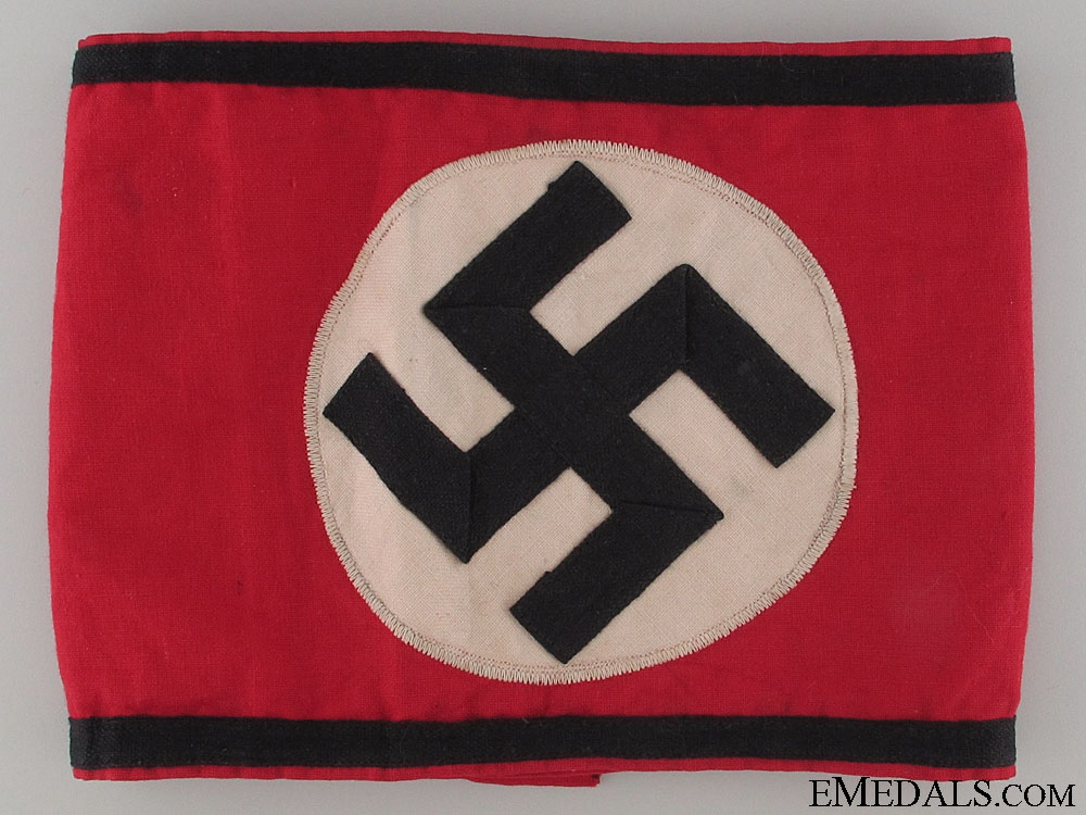 eMedals-An Early (Brown-Shirt) SS Armband (Kampfbinde)