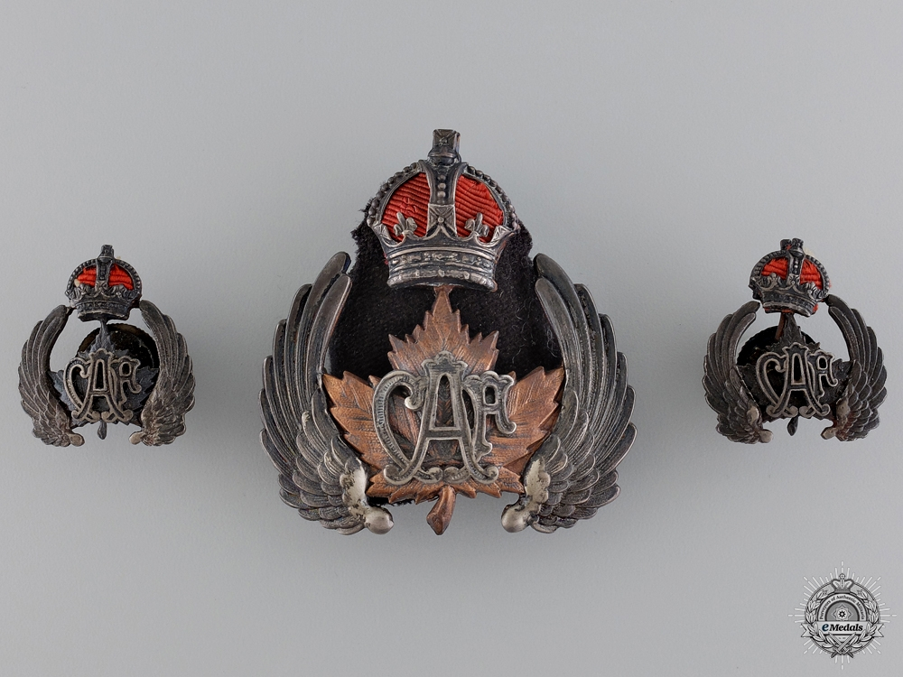 eMedals-An Early and Rare Set of Canadian Air Force Insignia