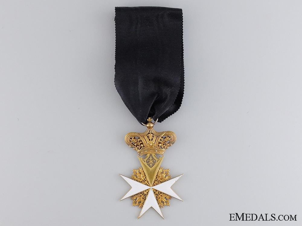 eMedals-An Early Austrian Order of Saint John in Gold; C.1835