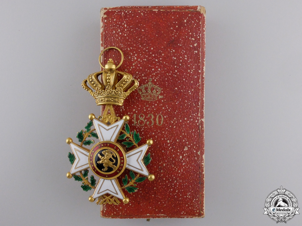 eMedals-An Early Belgian Order of Leopold I in Gold