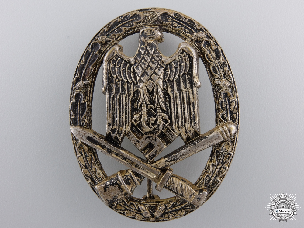 eMedals-An Early General Assult Badge