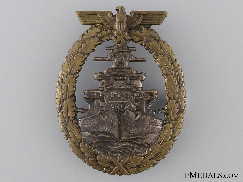 eMedals-An Early High Seas Fleet Badge
