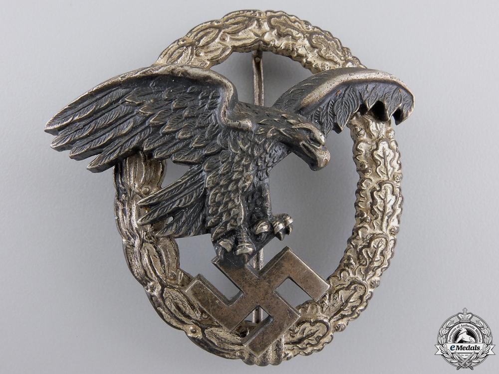 eMedals-An Early Luftwaffe Observers Badge by Assmann