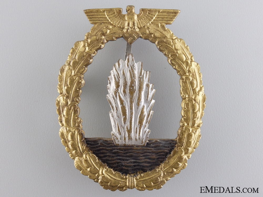 eMedals-An Early Minesweeper War Badge