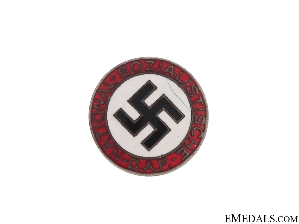eMedals-An Early NSDAP Membership Badge