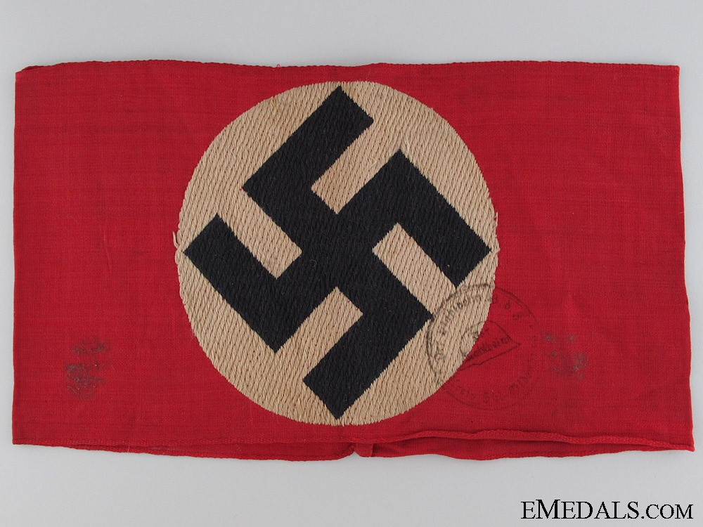 eMedals-An Early NSDAP Member's Armband