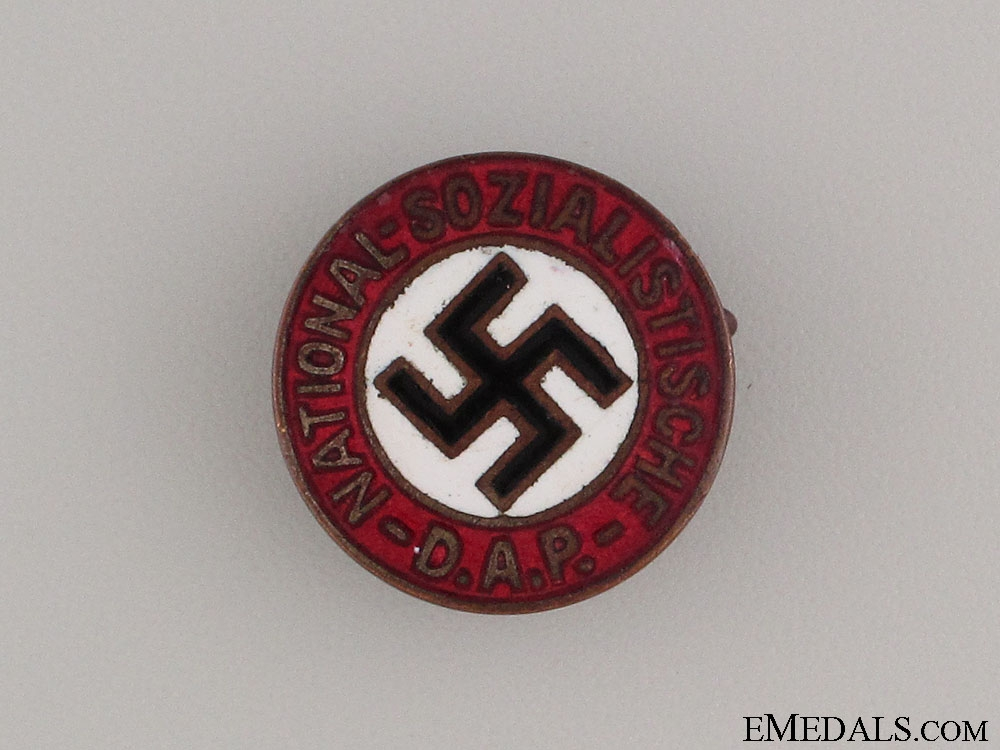 eMedals-An Early NSDAP Party Member's Badge