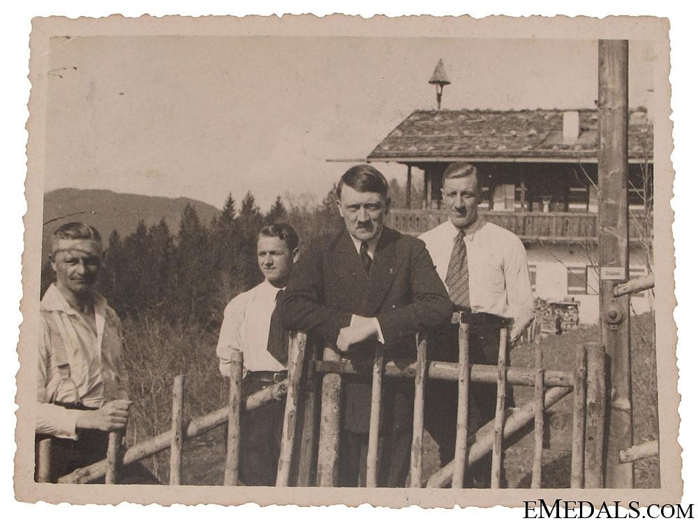 eMedals-An Early Photo of AH & Bruno Gesche