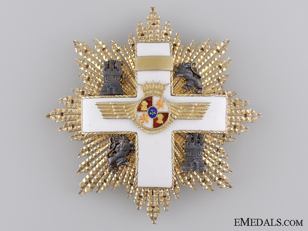 eMedals-An Early Spanish Order of Aeronautical Merit