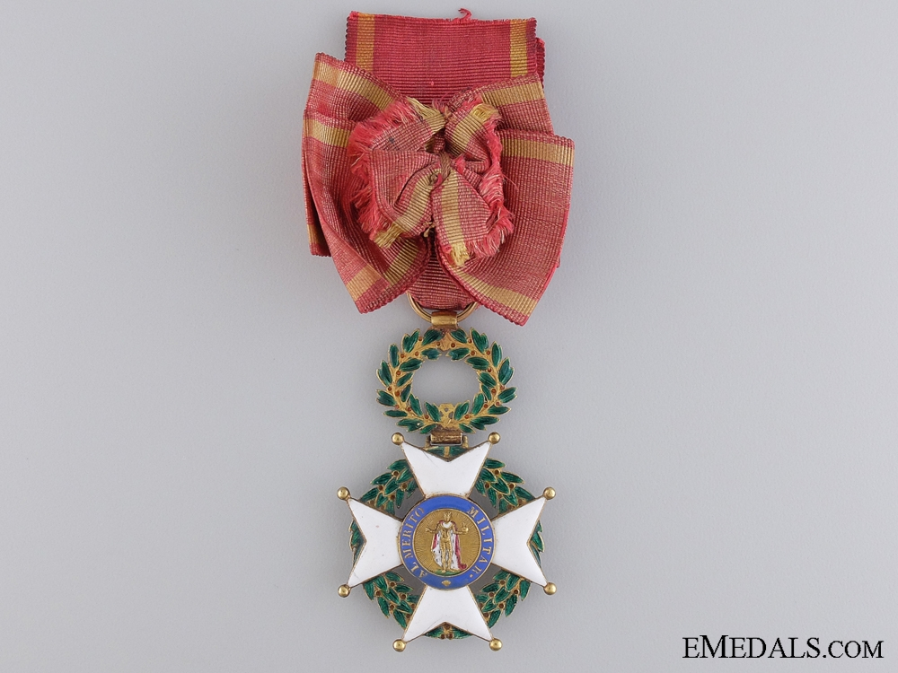 eMedals-An Early Spanish Order of Fernando in Gold; Circa. 1840