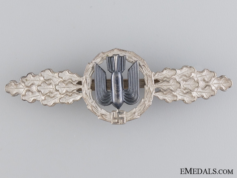 eMedals-An Early Squadron Clasp for Bomber Pilots; Silver Grade