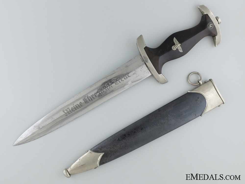eMedals-An Early SS Dagger by Ernst Pack & Söhne