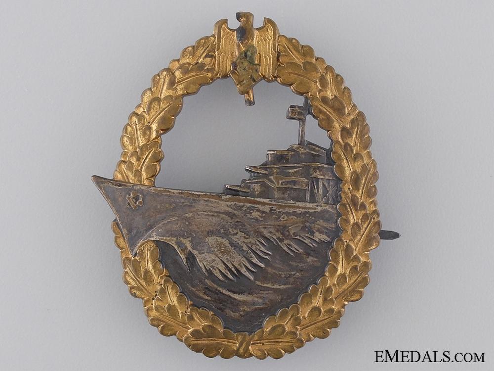 eMedals-An Early War Destroyer War Badge by Schwerin, Berlin