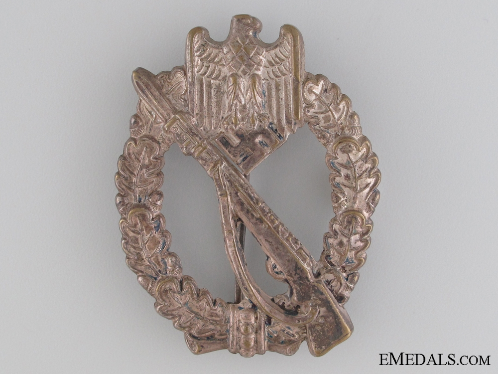 eMedals-An Early War Infantry Badge; Silver Grade