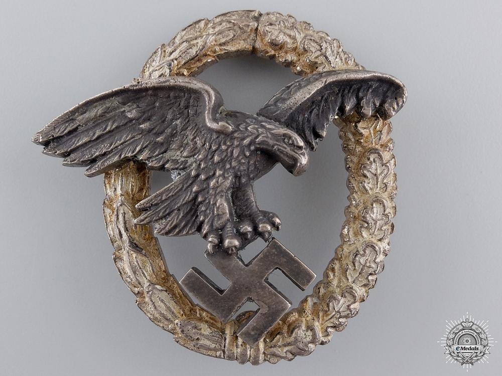 eMedals-An Early War Luftwaffe Observer's Badge by C.E.Juncker