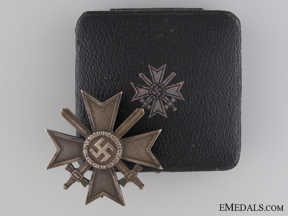 eMedals-An Early War Merit Cross with Swords First class by Maker 43