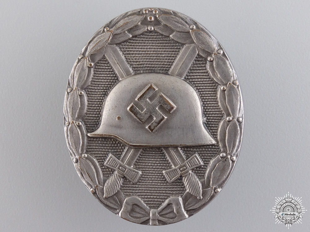 eMedals-An Early War Silver Grade Wound Badge