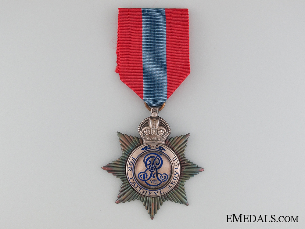 eMedals-An Edward VII Imperial service Medal