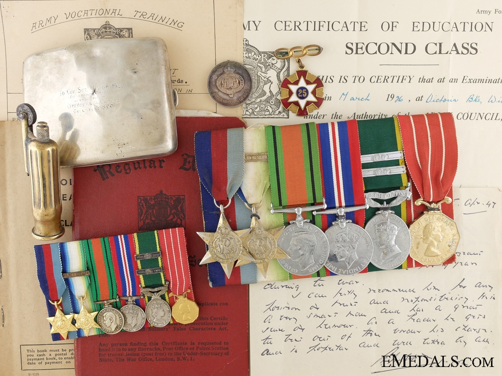 eMedals-An Efficiency & Canadian Forces Decoration Group to Special Branch