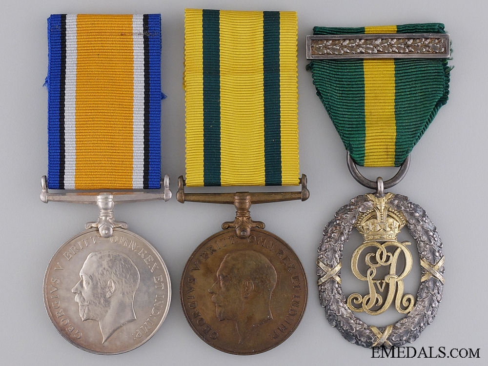 eMedals-An Efficiency Group to Lt. Col. Harris; SS Princess Alice Survivor