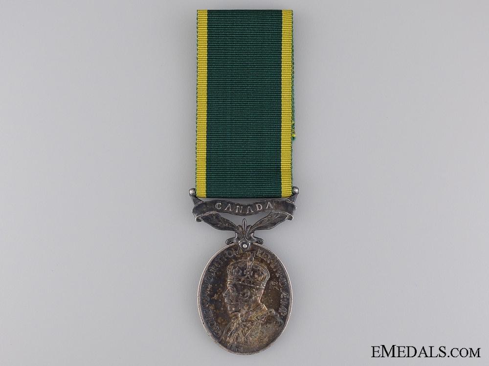eMedals-An Efficiency Medal to the Bugler of Winnipeg Rifles