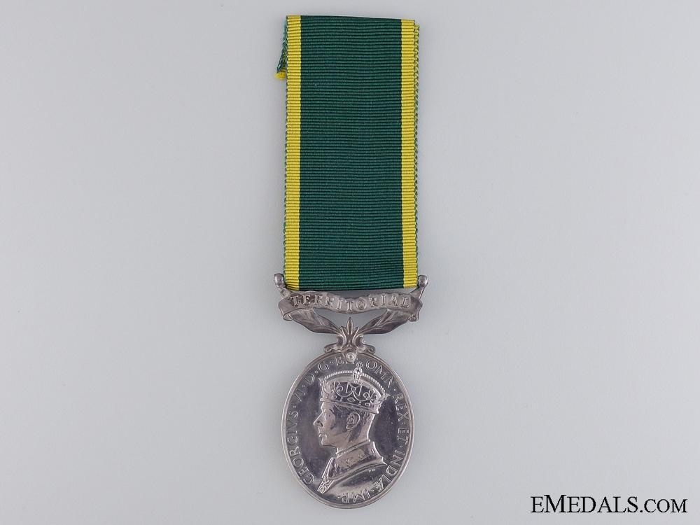 eMedals-An Efficiency Medal to Gunner J. Williamson; Royal Artillery
