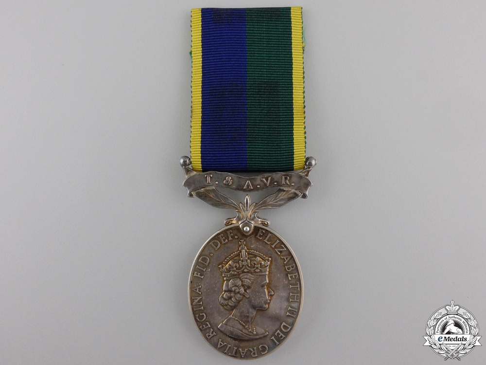 eMedals-An Efficiency Medal to the Territorial and Army Volunteer Reserve