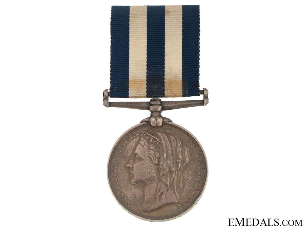 eMedals-An Egypt Medal 1882-89