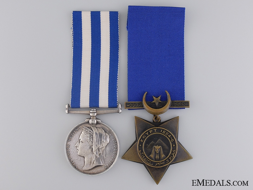 eMedals-An Egypt Medal Pairing to the Yorkshire Regiment
