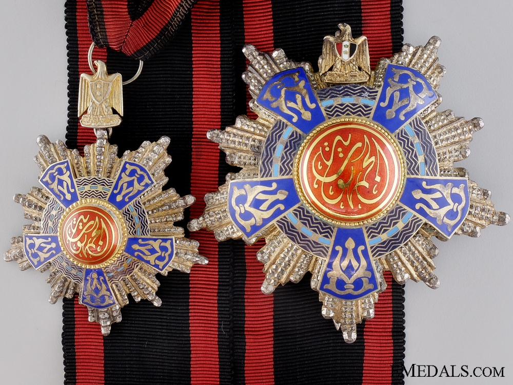 eMedals-An Egyptian Order of the Republic; Grand officer's Set