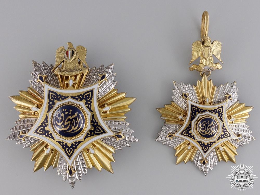eMedals-An Egyptian Order of Merit; Grand Cross 1953-1972 by Bichay