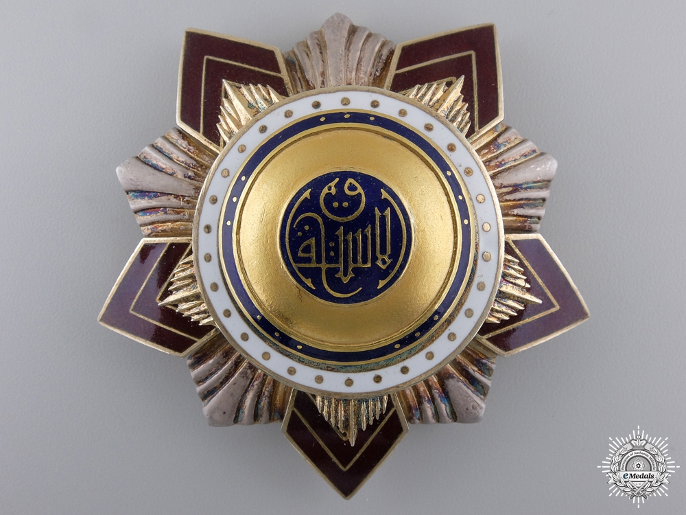 eMedals-An Egyptian Order of Independence; Grand Cross Star
