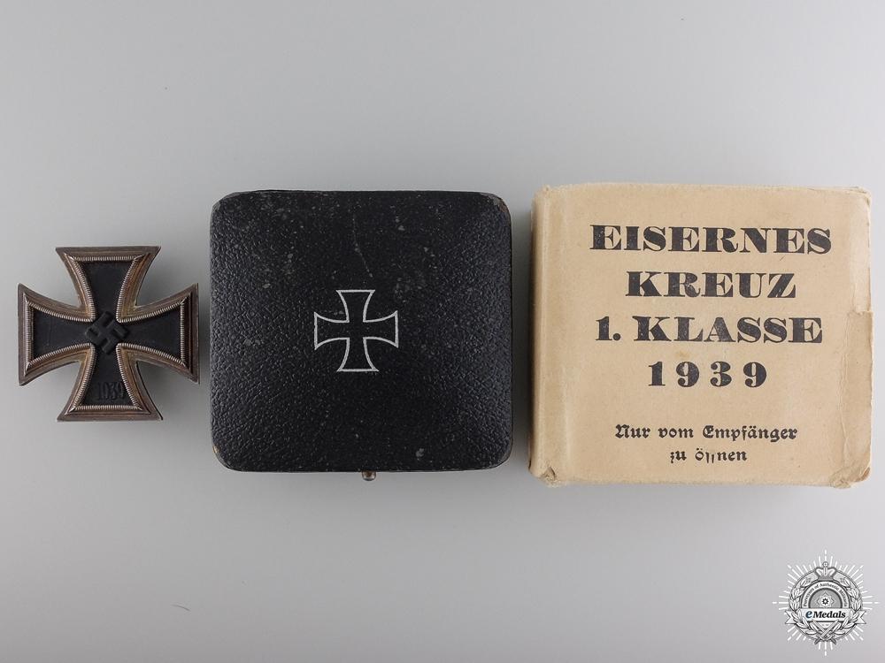 eMedals-An EK 1st Class with Case & Outer Cartonage by Rudolf Wachtler & Lange