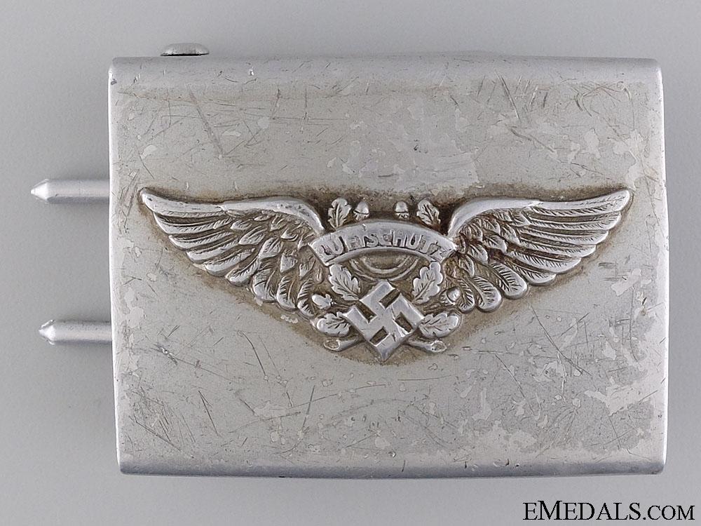 eMedals-An Enlisted Man's RLB/Luftschutz Belt Buckle; 2nd Pattern