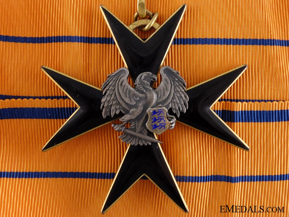 eMedals-An Estonian Order of the Black Eagle;Second Class