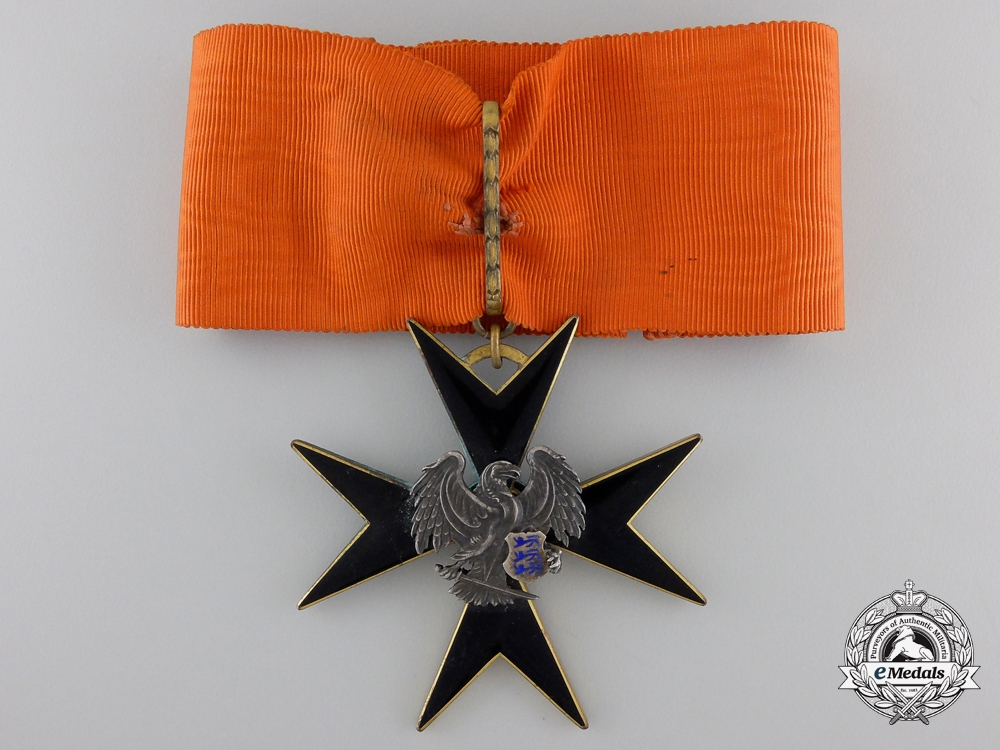 eMedals-An Estonian Order of the Black Eagle; Second Class