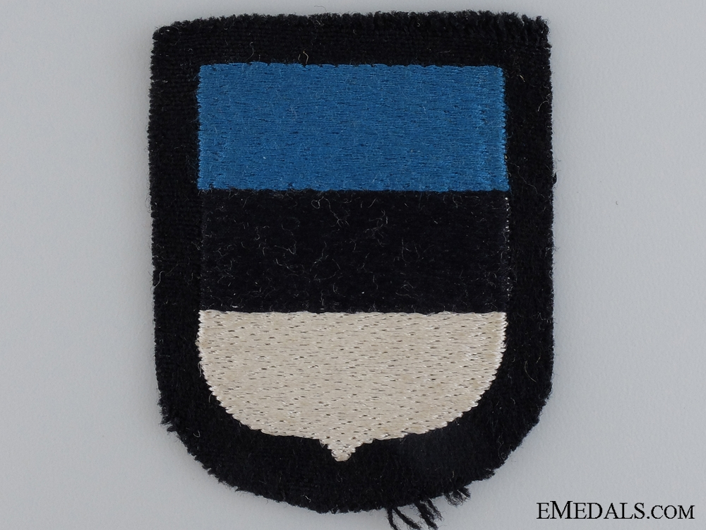 eMedals-An Estonian Waffen-SS Volunteer's Shield