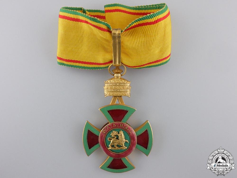 eMedals-An Ethiopian Order of Emperor Menelik II; Commander