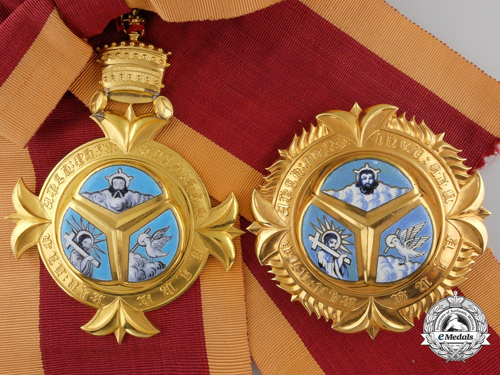 eMedals-An Ethiopian Order of the Holy Trinity; Grand Cross