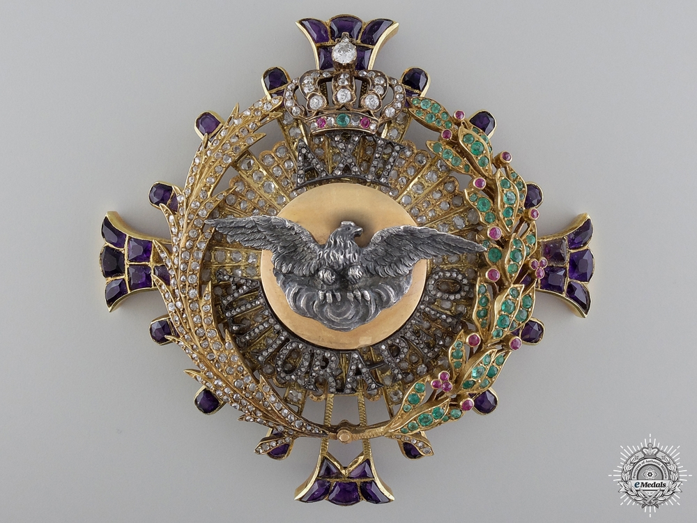 eMedals-An Extraordinary Spanish Order of Alphonso; Breast Star
