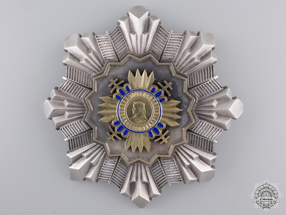 eMedals-An Extremely Rare Slovakian Order of Prince Pribina; Grand Cross