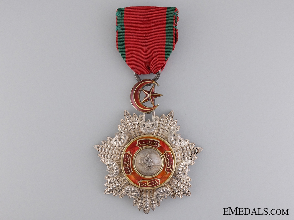 eMedals-An Fine Turkish Order of the Mejidie in Silver & Gold