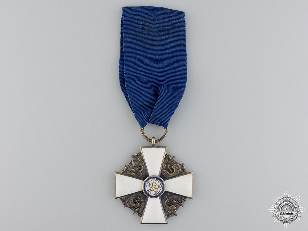 eMedals-An Finnish Order of the White Rose; Officer's Cross