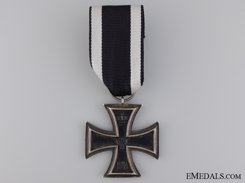 eMedals-An First War Iron Cross 2nd Class 1914; Marked LW
