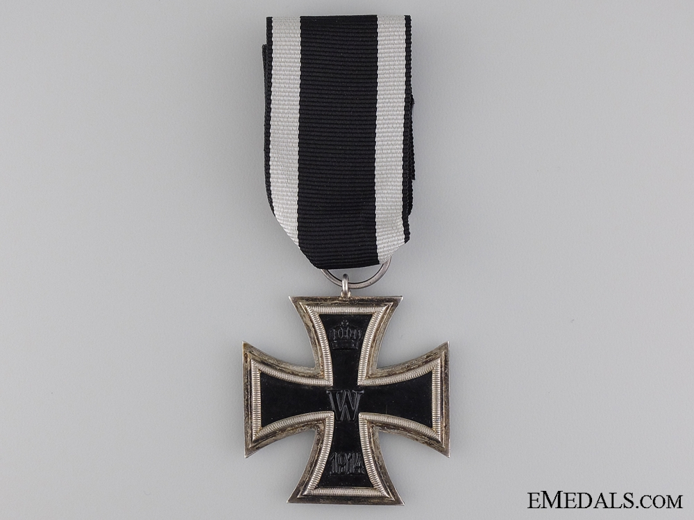 eMedals-An First War Iron Cross 2nd Class 1914; Marked W