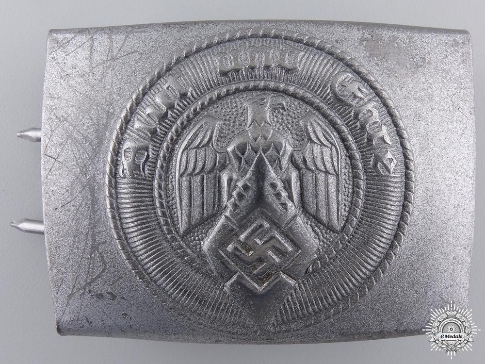 eMedals-An HJ Belt Buckle by Friedrich Linden, Lüdenscheid