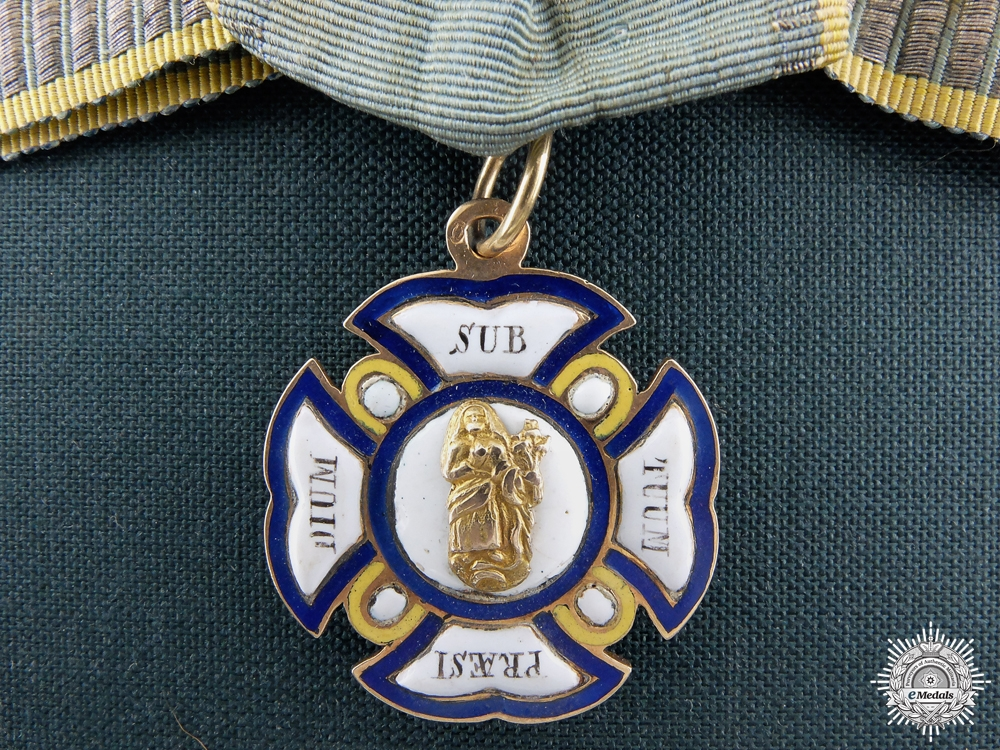 eMedals-An Honour Cross of the Order of St.Anne in Gold c.1810