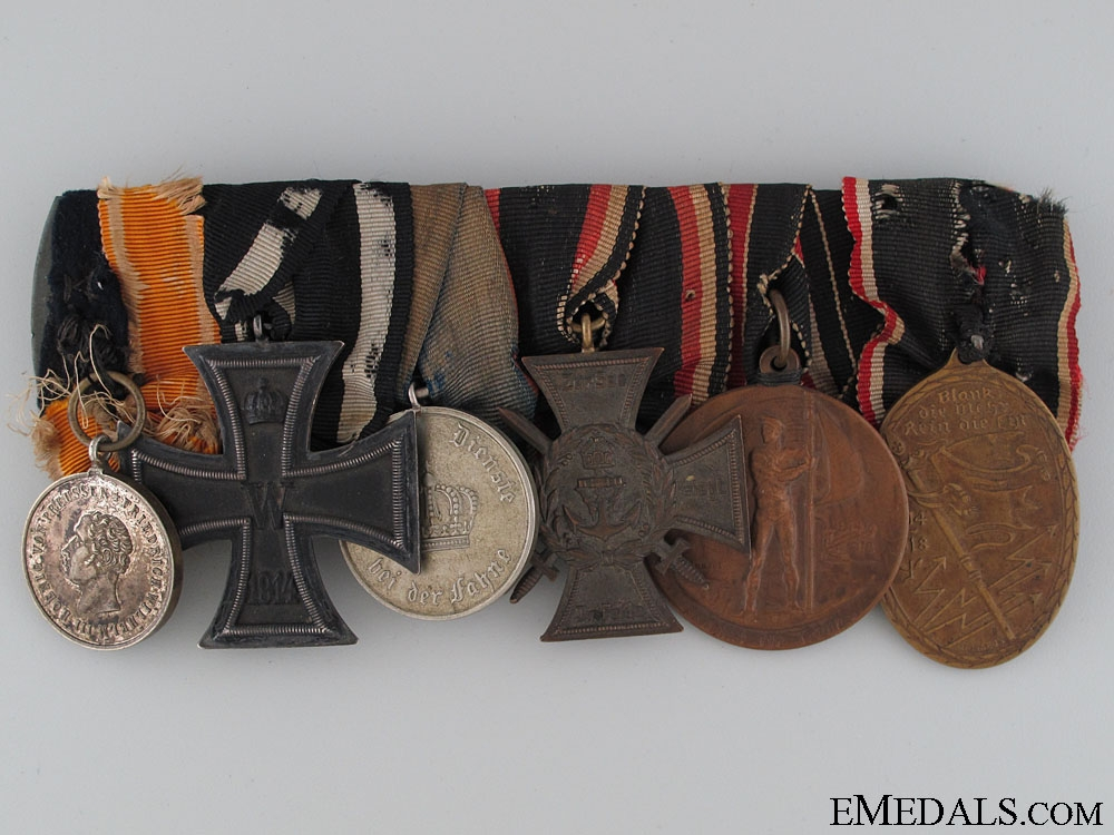 eMedals-An Imperial 6 Decoration Medal Bar